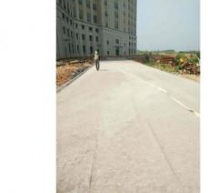 九江市婦幼兒童醫院道路水穩層攤鋪工程